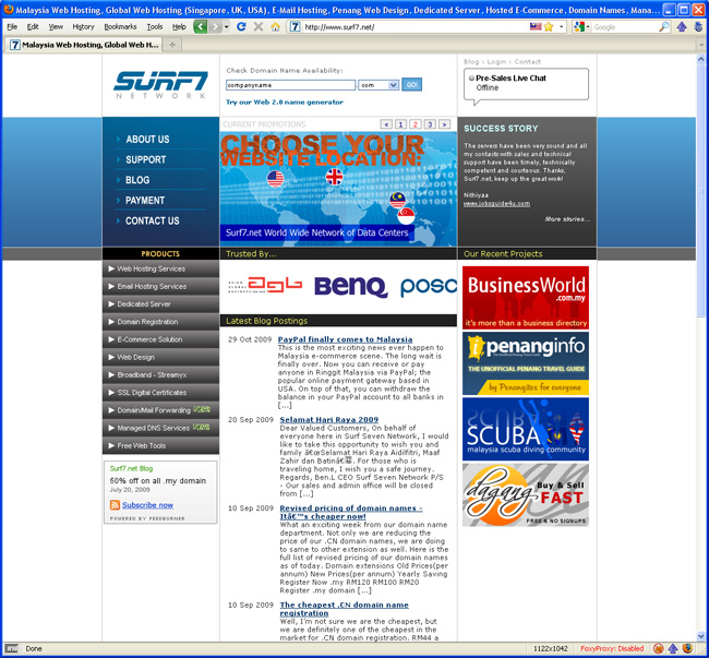 Welcome to Brand New Surf7 net - Surf7 net